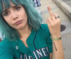 halsey, blue, and icon image