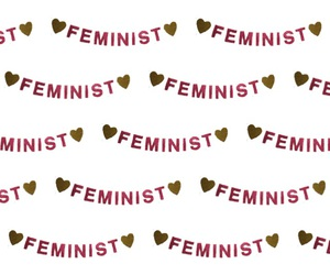 background, feminist, and pattern image