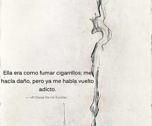 cigarette, frases, and frases en español image