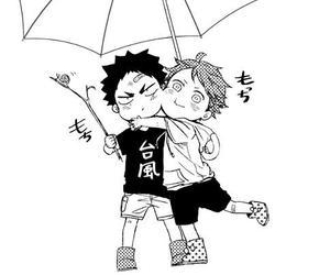 haikyuu, manga, and anime image