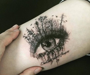 tattoo and eye image