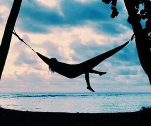 summer, beach, and relax image