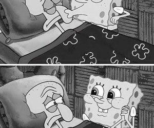 spongebob, kiss, and sponge bob image