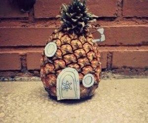 pineapple, spongebob, and bob esponja image
