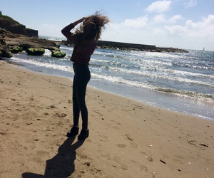beach, beauty, and blondy image