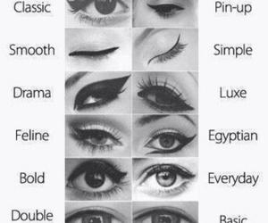 eye makeup and eyes image