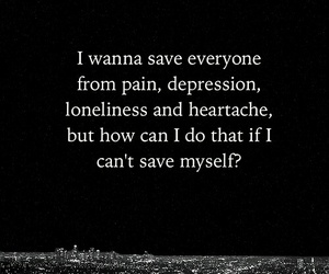 pain, depression, and save image