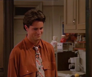 chandler, Matthew Perry, and friends image