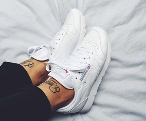 shoes, reebok, and Tattoos image