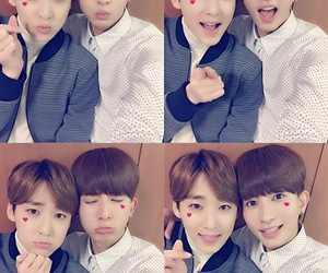 u-kiss and kevin woo image