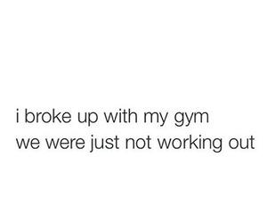 funny and gym image