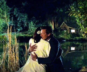 simon baker, the mentalist, and wedding image
