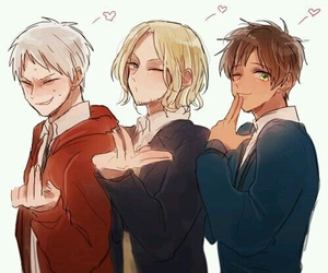 france, hetalia, and prussia image