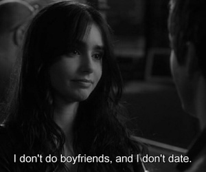 logan lerman, lily collins, and quotes image