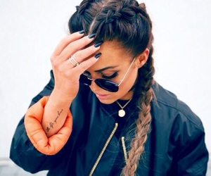beautiful, braids, and mode image