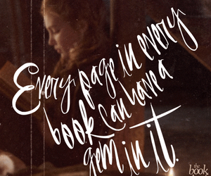 the book thief, book, and gems image