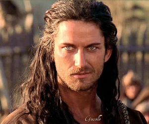 beautiful and gerard butler image