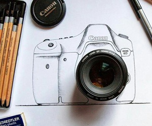art, camera, and canon image