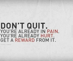 pain, quote, and hurt image