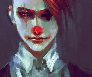 clown, art, and anime image