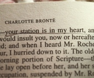 charlotte bronte, novel, and quote image