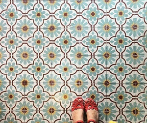 art, floor, and pattern image