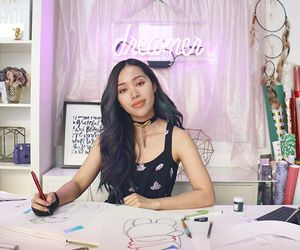 girl, youtube, and michelle phan image