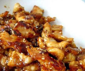 food and chicken teriyaki image