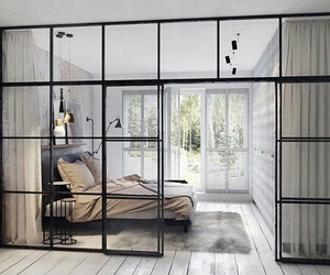 bed, white, and style image