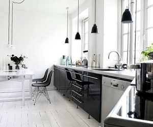 kitchen, modern, and style image