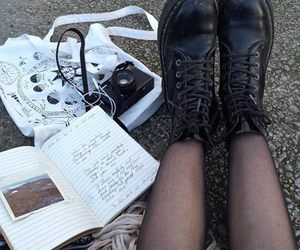 grunge, boots, and aesthetic image