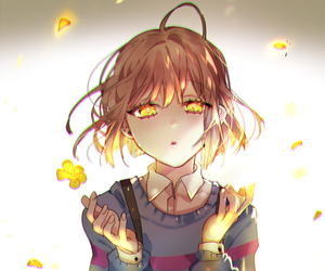 undertale, frisk, and anime image