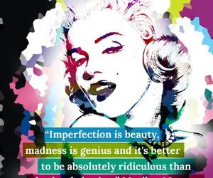 boring, imperfection, and madness image