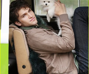 keegan allen, pll, and dog image