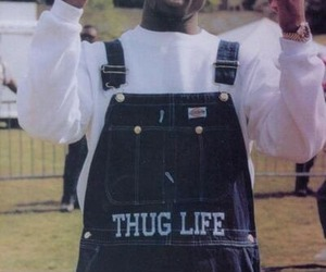 2pac, thug life, and tupac image