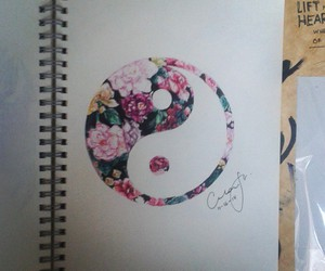 drawing, pink, and art image
