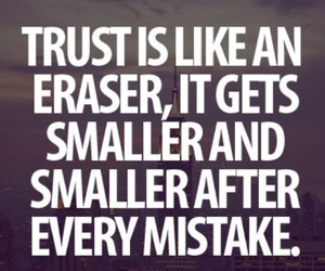 trust, quote, and true image