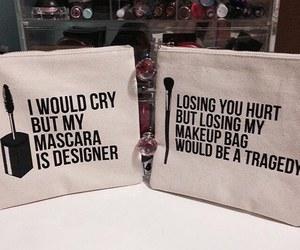 bag, makeup, and designer image