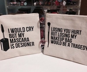 bag, makeup, and designer image