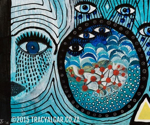 contemporary art, mixed media, and south african artist image