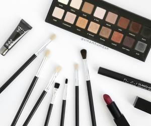 lip, lipstick, and makeup image