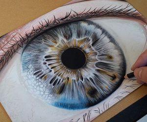 art, beautiful, and eye image