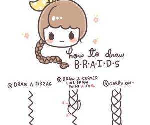 braid, drawing, and draw image