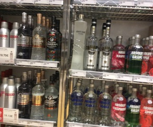 absolut, addict, and alcohol image