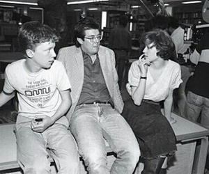 john hughes, Molly Ringwald, and Anthony Michael Hall image