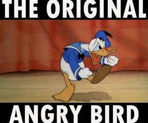 funny, disney, and donald image