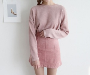 pink, fashion, and tumblr image