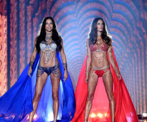 alessandra ambrosio, model, and Adriana Lima image
