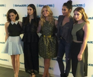 pll, lucy hale, and ashley benson image