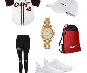 chicago bulls, nike, and rolex image